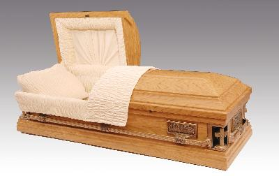 Cathedral Casket (Open lid)