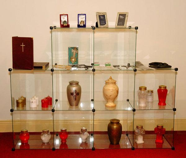 Urn and Jewellery Display