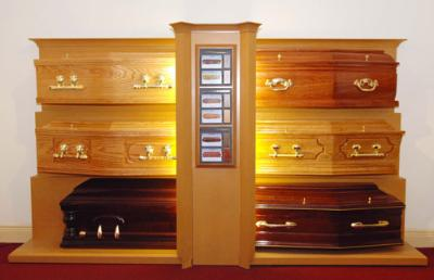 Coffin Display Unit