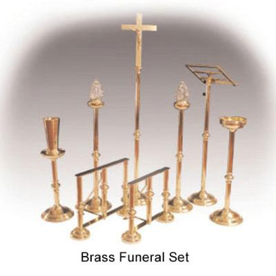 Brass Funeral Set