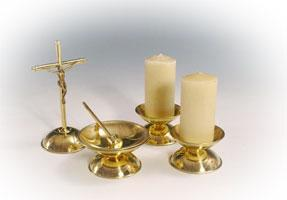 Brass Table Set